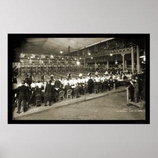 Milwaukee,WI Bowling 2 Photo 1905 Poster
