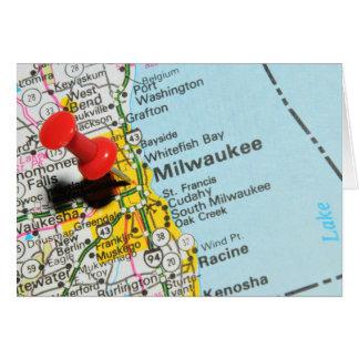 Milwaukee, Wisconsin Card