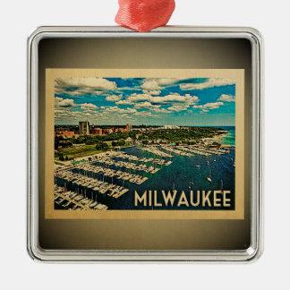 Milwaukee Wisconsin Ornament Vintage Travel