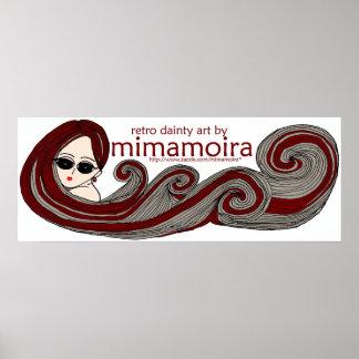 Mima MOiRA Logo Poster