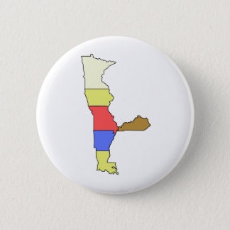 MIMAL the Elf, The Five State Chef 6 Cm Round Badge