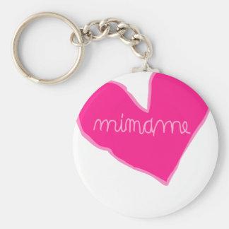 mimame pink key ring