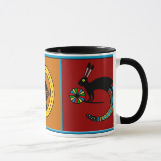 Mimbres Culture Mythological Mug