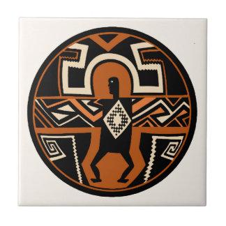 Mimbres Warrior Tile