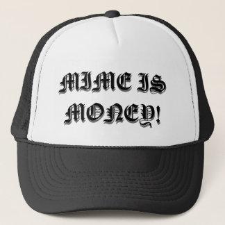 MIME IS MONEY TRUCKER HAT