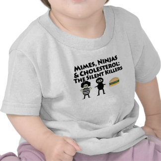 Mimes Nijas Cholesterol Tee Shirt