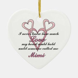 Mimi (I Never Knew) Decorative Ornament