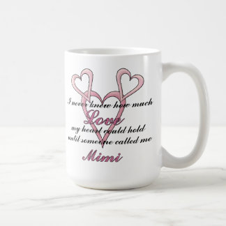 Mimi (I Never Knew) Mother's Day Mug