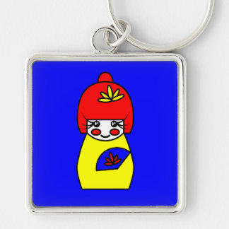 Mimi (Kokeshi Doll) Key Ring Keychains