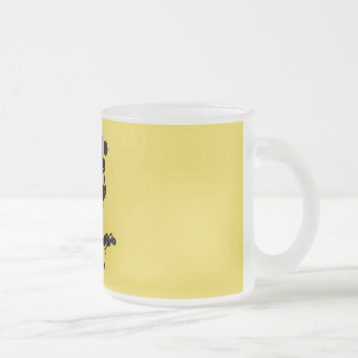 Mimi Rabbit Frosted Glass Coffee Mug