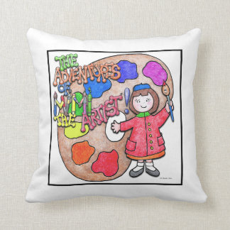 Mimi the Artist Paint PaletteGreat for naptime! Cushion