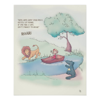 MiMi Ventures - Row Row Row Your Boat Poster