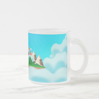 Mimicup Frosted Glass Coffee Mug