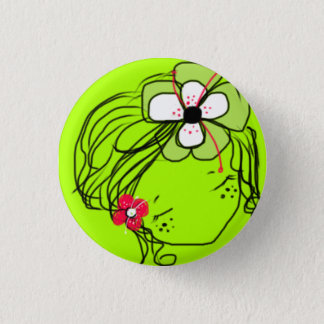 mimiyoya girl:: Rae 3 Cm Round Badge
