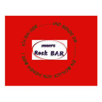 Mimmy's skirt bar postcard