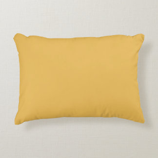 Mimosa (Yellow) Color Decorative Cushion