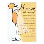 Mimosas 5x7 Paper Invitation Card