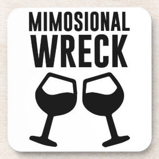 Mimosional Wreck Beverage Coasters