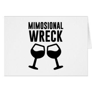 Mimosional Wreck Card