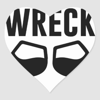 Mimosional Wreck Heart Sticker