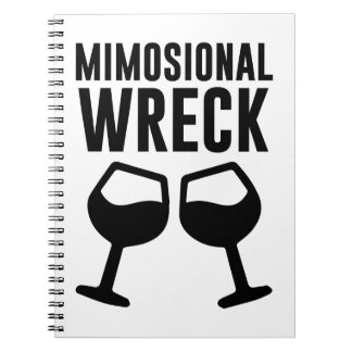 Mimosional Wreck Notebooks