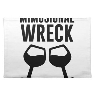 Mimosional Wreck Placemat