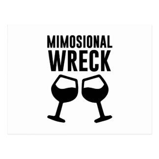 Mimosional Wreck Postcard