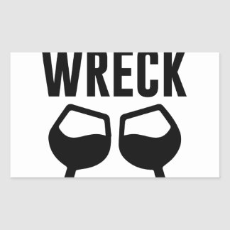 Mimosional Wreck Rectangular Sticker