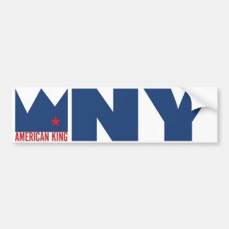 MIMS Bumper Sticker - American King of N.Y.