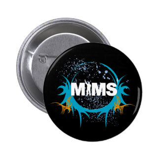 MIMS Button - Splatter - Exclusive