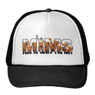 MIMS Hat -  This is Why I'm Hot Logo - Black
