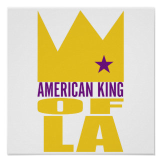 MIMS Poster Print -  American King of L.A.