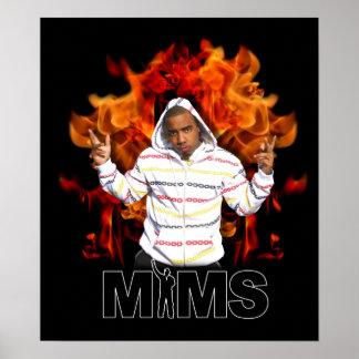 MIMS Poster Print -  Eternal Flame