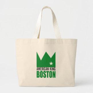 MIMS Totebag -  American King of Boston Large Tote Bag