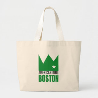 MIMS Totebag -  American King of Boston Jumbo Tote Bag