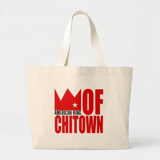 MIMS Totebag -  American King of Chi-Town Canvas Bags