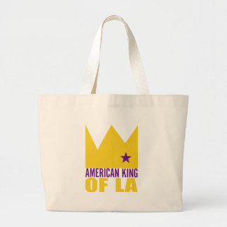 MIMS Totebag -  American King of L.A. Jumbo Tote Bag