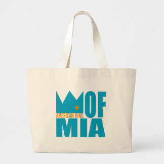 MIMS Totebag -  American King of MIA Jumbo Tote Bag
