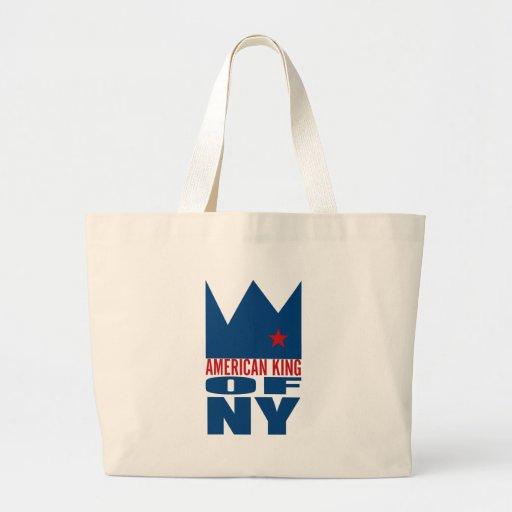 MIMS Totebag -  American King of NY Canvas Bag