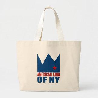 MIMS Totebag -  American King of NY Jumbo Tote Bag