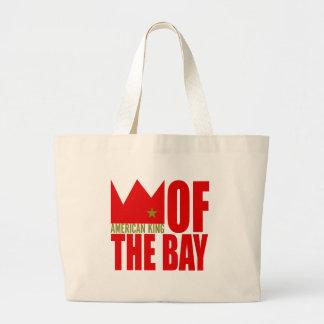 MIMS Totebag -  American King of The Bay Jumbo Tote Bag