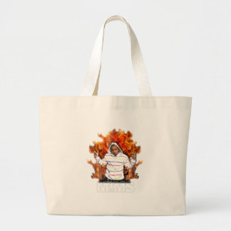 MIMS Totebag -  Eternal Flame Jumbo Tote Bag
