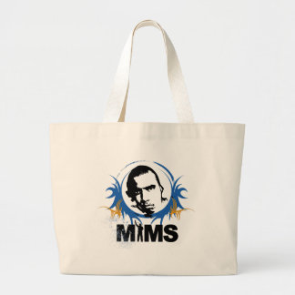 MIMS Totebag -  MIMS Image Framed- Exclusive Jumbo Tote Bag