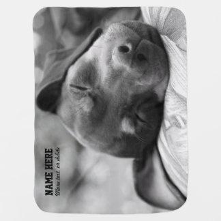 Min Pin Dog Personalized Pet Blanket