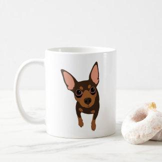 Min Pin Lover Classic Coffee Mug (Chocolate)