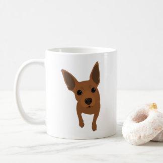 Min Pin Lover Classic Coffee Mug (Red Min Pin)