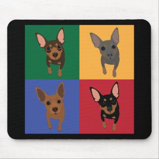 Min Pin Lover Mousepad
