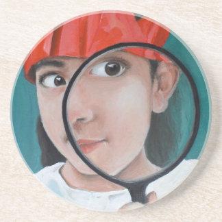 Min-Spy Coaster