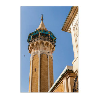 Minaret Of A Mosque Acrylic Wall Art