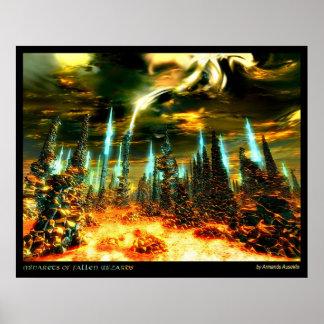 Minarets of Fallen Wizards Poster